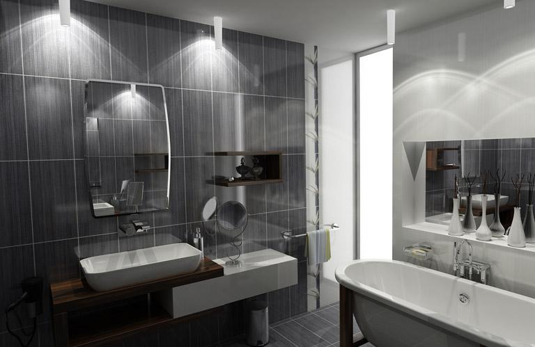 faux plafond salle de bain moderne faux plafond salle de bain spot - Faux Plafond Salle De Bain